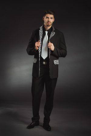 Fekete férfi rocky ruha - Szalagavató Központ