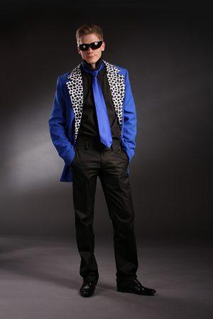 Kék férfi rocky ruha - Szalagavató Központ